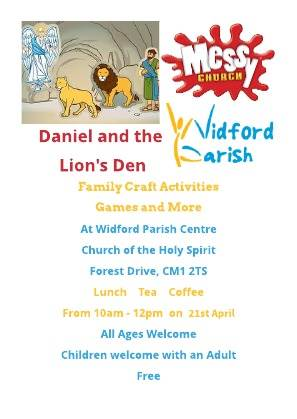 Daniel and the Lions Den April 2018