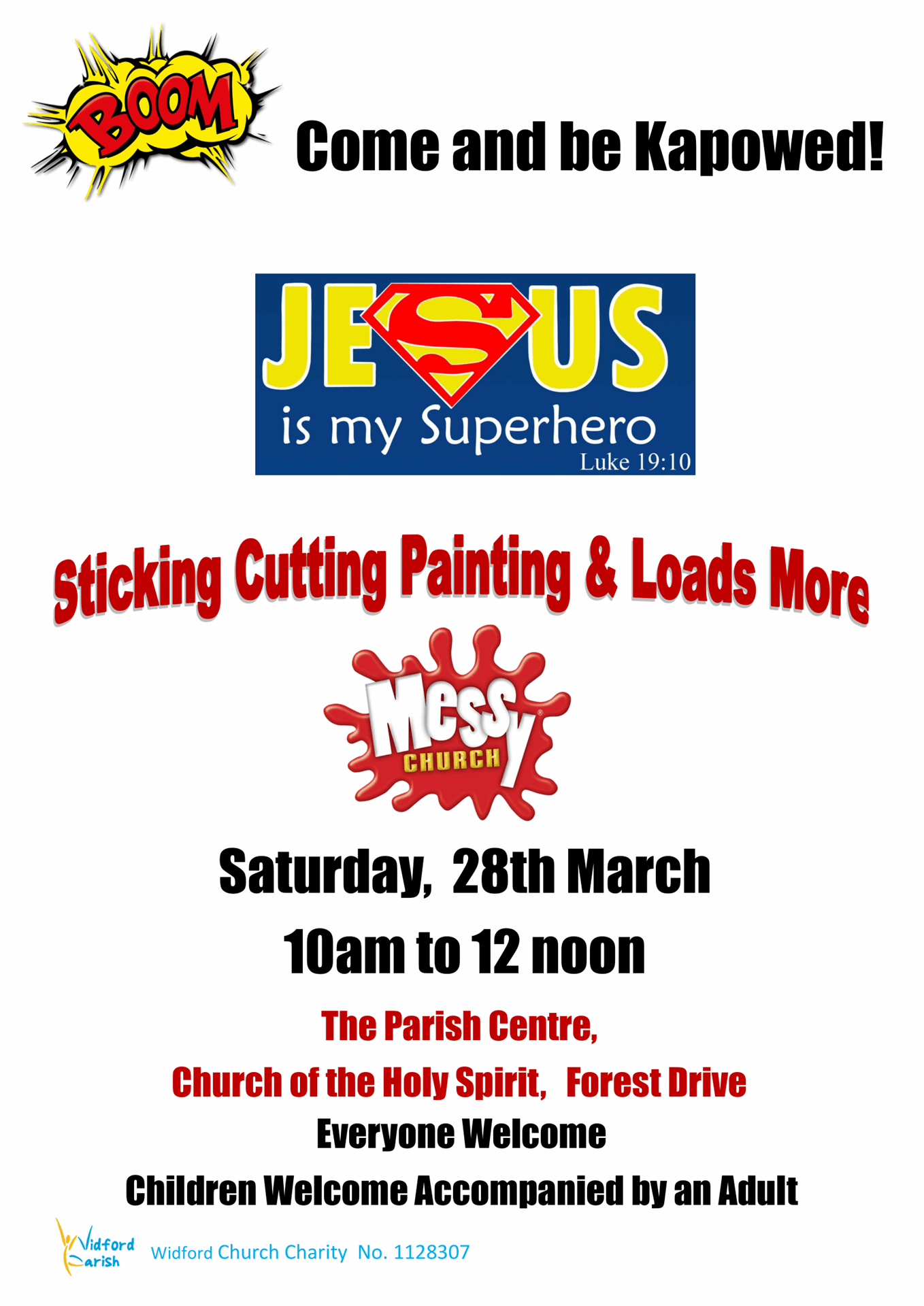 Poster Messy Church 28.03.20. A4 1